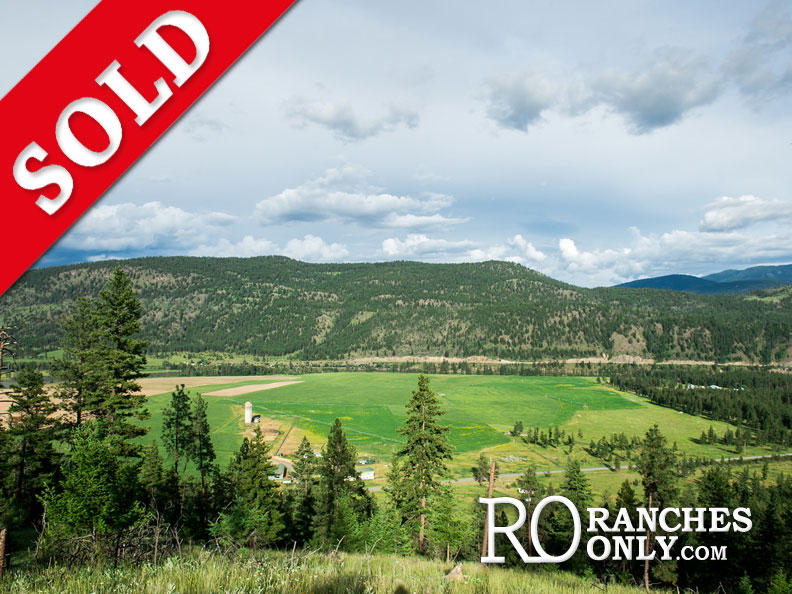SOLD Jamieson Creek Ranch >7681 Westsyde Road, Kamloops | 394 Acres| A Jewel On The North Thompson River