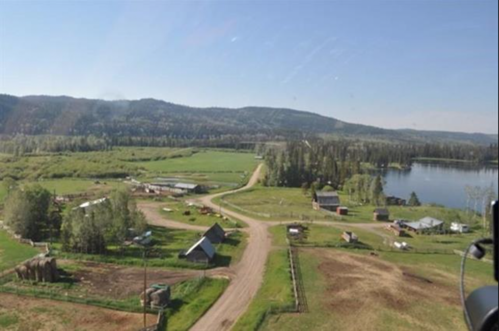 Sharpe Lake Ranch >Interlakes, BC | 741 Acres | 250 Acres Hay | Adjacent Crown Range | Sharpe Lake Frontage | Bonaparte River Frontage