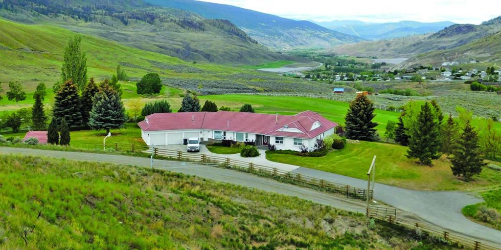 Broken Diamond Ranch      > Cache Creek, BC | 161 Acres | AR-2 Zoning | Executive Home with Inground Pool | 9 Hole Golf Course & Club House | Barn & Riding Arena