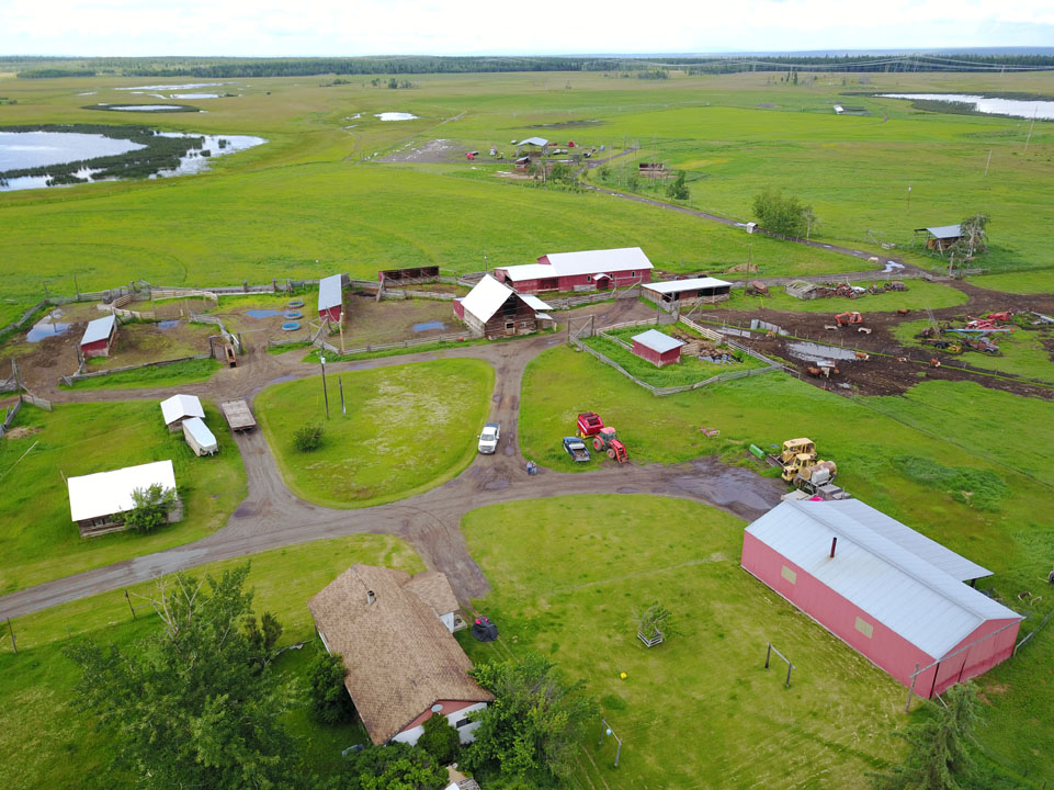 3625 Dog Creek Road, The Tucker Ranch > Williams Lake, BC | 944 Acres | Cattle Ranch | Adjoining Crown Range | Irrigated Hay Fields | 3 Bedroom Home | Calving Barn | Grain Storage