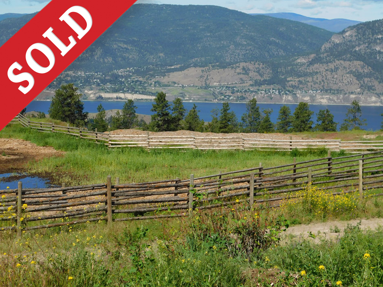 SOLD 1313 Greyback Mountain Road  > Penticton, BC  | 80.83 Acres | Runs 200 Cow/Calf Pairs | Fenced & Fenced | Crown Grazing Lease | 100×80 Riding Arena