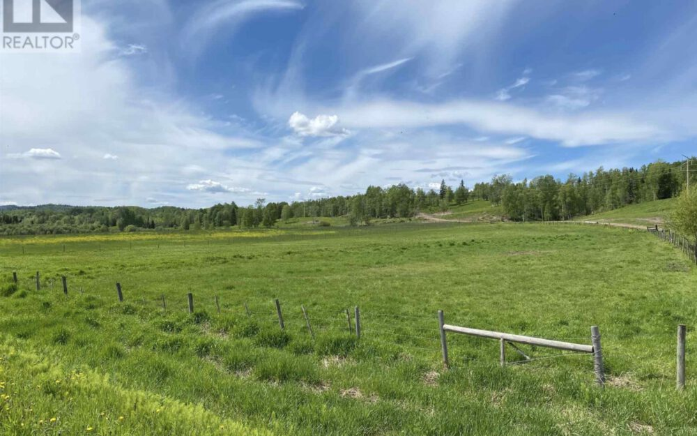28880 Upper Fraser Road, Prince George > 726 Acres in 6 Titles | 2 Residences | Runs 200 Cow/Calf Pairs | 3 Miles Lakefront | 400 Ton Hay Per Year | Timber Value