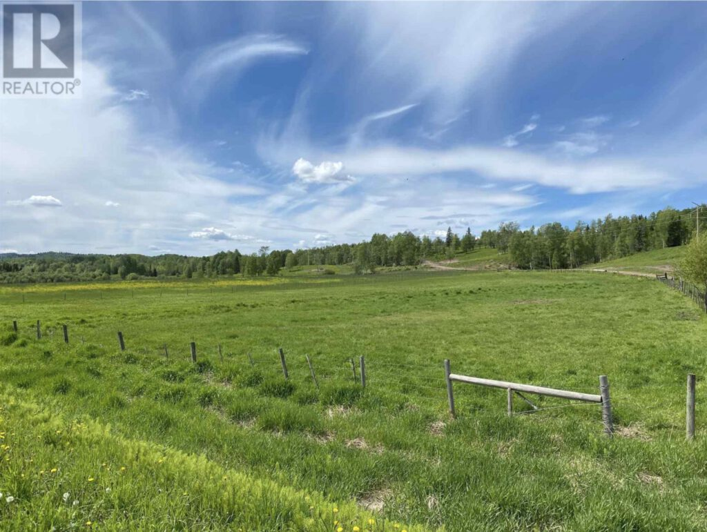 28880 Upper Fraser Road, Prince George > 726 Acres in 6 Titles   2 Residences   Runs 200 Cow/Calf Pairs   3 Miles Lakefront   400 Ton Hay Per Year   Timber Value